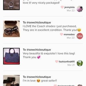 Bags - 5 STAR 🌟 RATED seller fast shipper